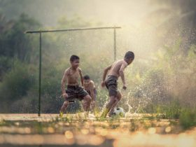 kinder fußball sport asien